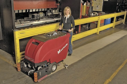 Top Benefits Of Using Walk Behind Floor Scrubber To Clean Your Commercial Space