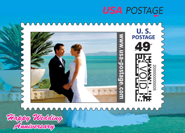 Customizable US Postage Stamp Will Make You A Global Celebrity