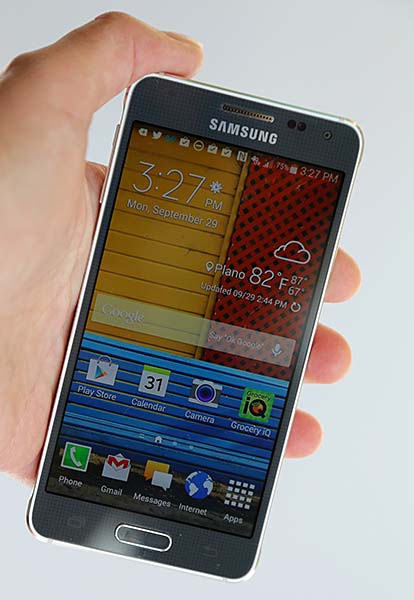 Working And Performance Of Samsung Galaxy Alpha