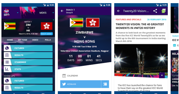 Here Are 7 Best Android Apps To Keep You Updated During WC T20 2016
