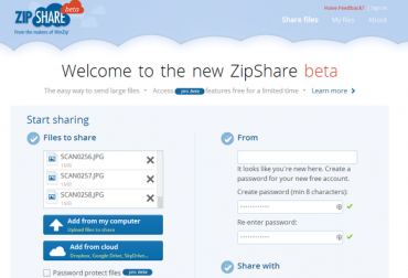 Manage Your Cloud Storage Accounts With WinZip's ZipShare Service