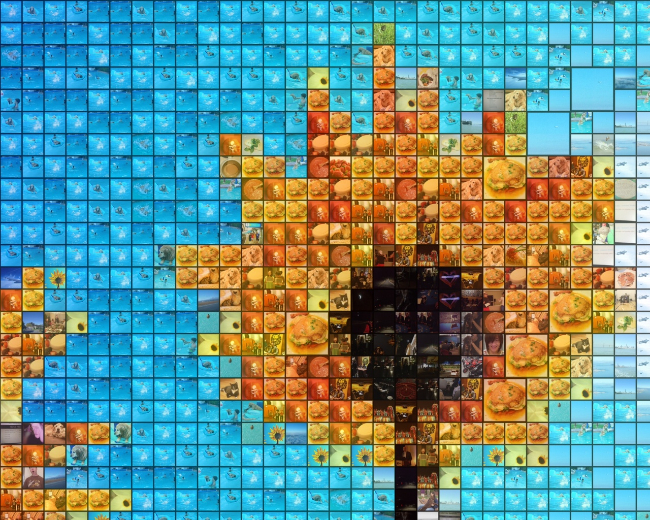 Custom Mosaic Picture App Carry A Picture To Life
