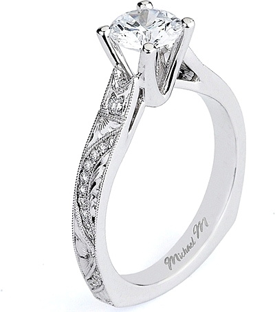 Michael M. Engagement Rings Are Very Popular Among Customers