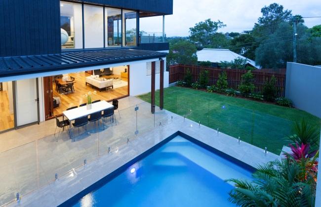glass pool fencing brisbane