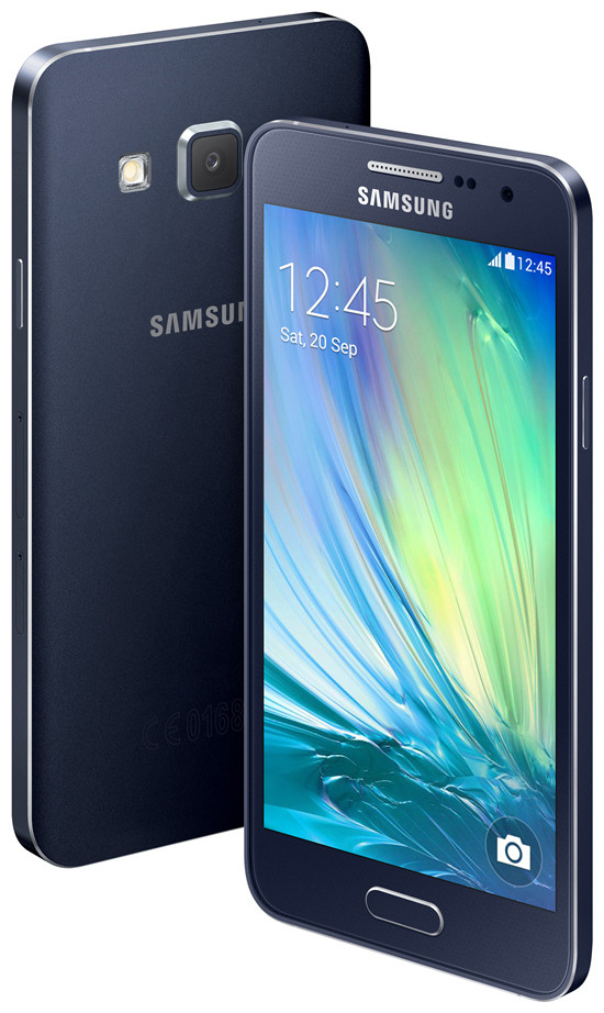 Samsung Galaxy A3: Mid-Range Metal Housing Android Phone