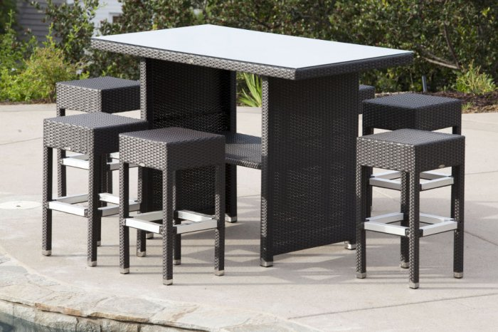Explore The Assortment Of Outdoor Furniture Like Outdoor Bar Stools