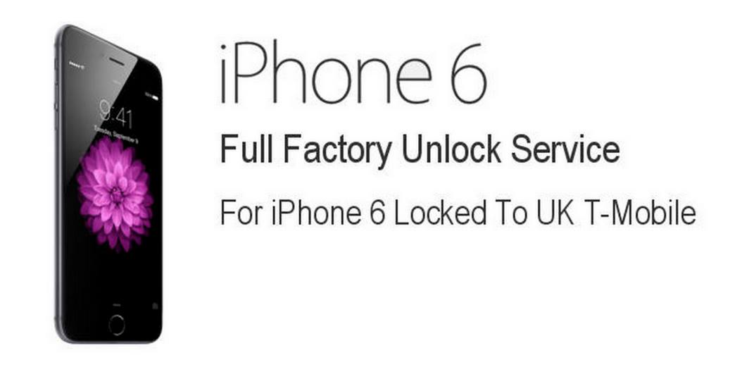 How To Unlock T-Mobile UK iPhone 6 5s 5c 5 4s Permanent On Any Sim Card
