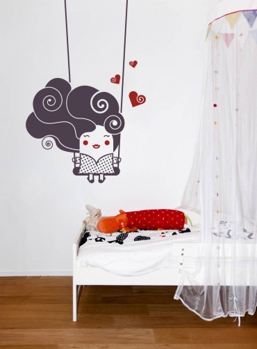 Kids Wall Decal: Easy To Install