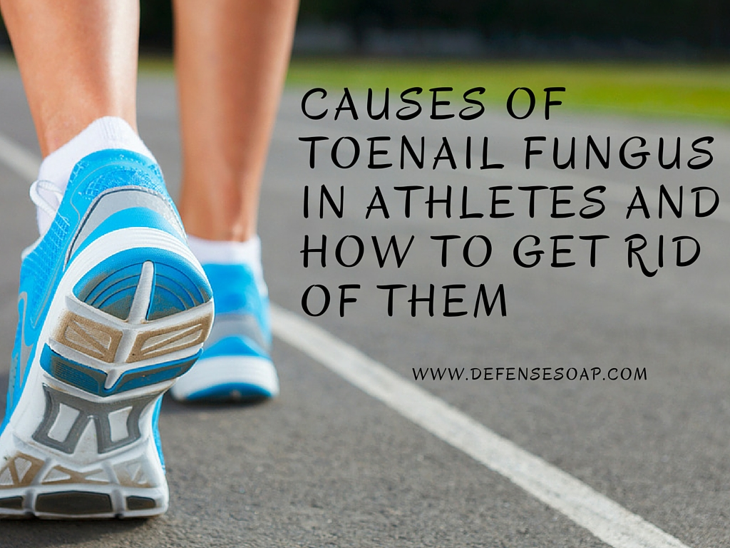 Causes Of Toenail Fungus In Athletes and How To Get Rid Of Them