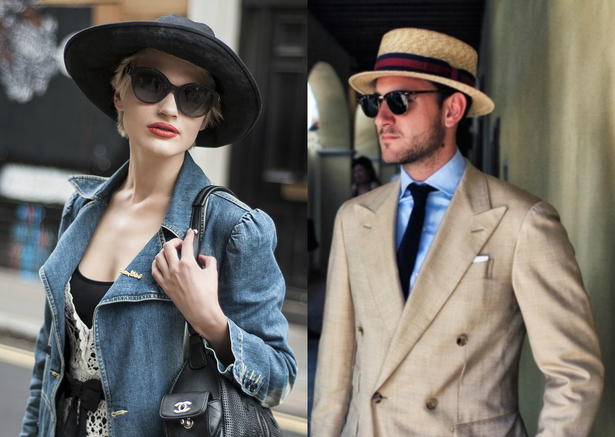 Trends Regarding Fashionable  Men & Women hats