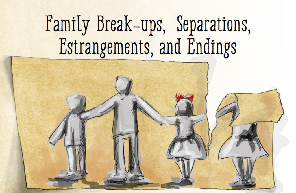 How To Cut Through The Chaos Of A Family Break-Up?