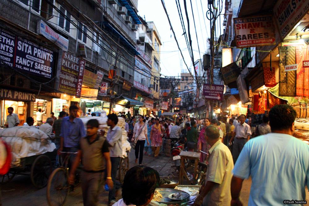 A Walk Down Chandni Chowk