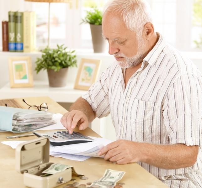 Making Financial Arrangements For Elderly People