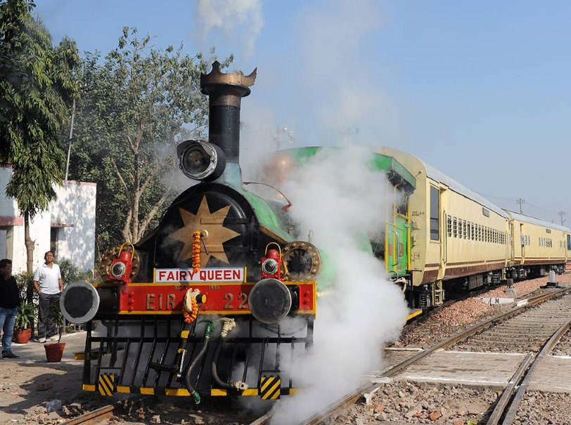 The Oldest Steam Train Of The World – Fairy Queen