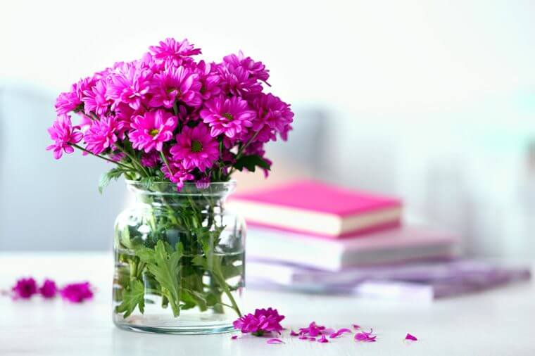 How Can Flowers Brighten Up The Home and Life Of The Residents?
