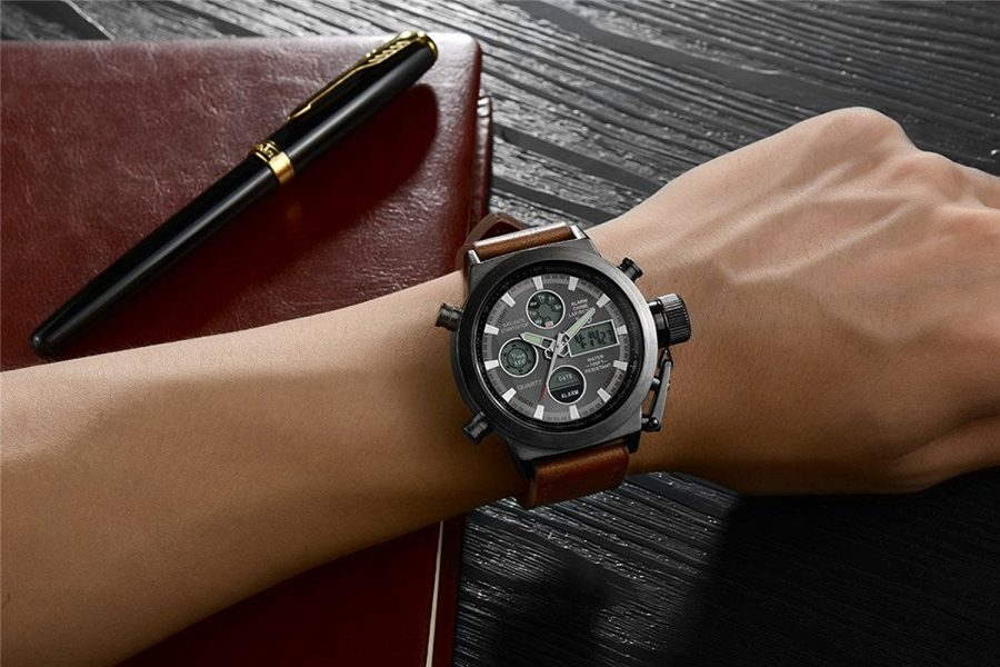 3 Waterproof Men's Watches That Are Ideal For Monsoon Season