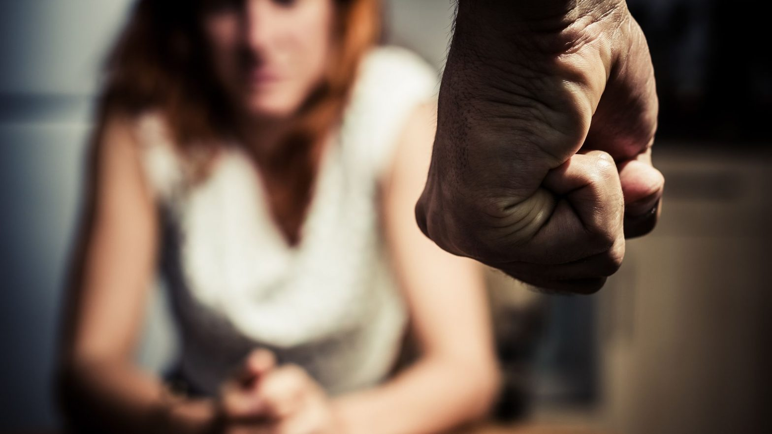 Women Facing Domestic Abuse In Countryside